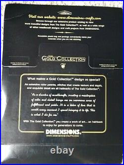 Dimensions GOLD COLLECTION counted cross KIT. A STROLL IN THE PARK. RARE