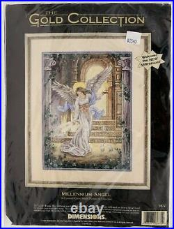 Dimensions Gold Collection 1998 Millennium Angel Counted Cross Stitch 3870 c3