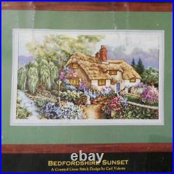 Dimensions Gold Collection Bedfordshire Sunset 3796 Cross Stitch Kit 1995