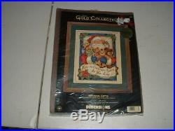 Dimensions Gold Collection Counted Cross Stitch Kit Bearing Gifts Sealed #8638