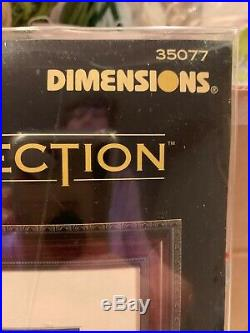 Dimensions Gold Collection Cross Stitch Kit FLIGHT OF FREEDOM #35077 Eagel Flag