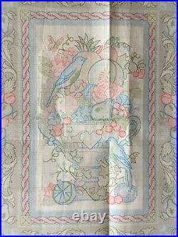 Dimensions Gold Collection Elegant Tapestry 3793 Karen Avery Cross Stitch 1995