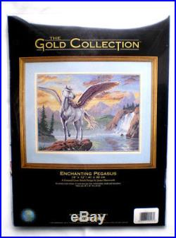 Dimensions Gold Collection Enchanting Pegasus Counted Cross Stitch Kit