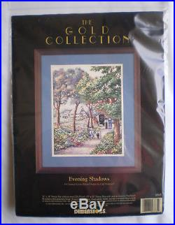 Dimensions Gold Collection Evening Shadows Counted Cross Stitch Kit