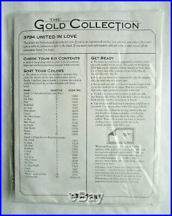Dimensions Gold Collection / Karen Avery United In Love Counted Cross Stitch Kit