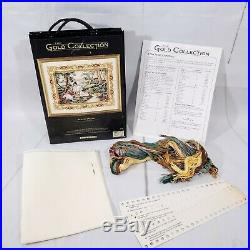 Dimensions Gold Collection Placid Picnic #3798 Counted Cross Stitch Kit 1995