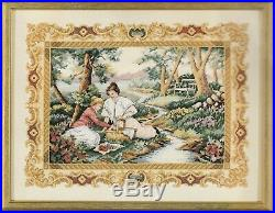 Dimensions Gold Collection Placid Picnic Cross Stitch Kit Flowers Trees