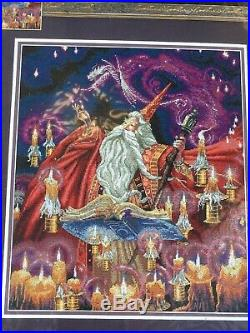 Dimensions Gold Collection Scarlet Wizard Cross Stitch Kit Myles Pinkney 35141