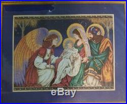 Dimensions Gold Collection The Birth Of Christ #8563 Cross Stitch Kit Christmas