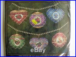 Dimensions Gold Collection Timeless Elegance Ornaments Cross Stitch Kit 8706