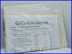 Dimensions Gold Collection Victorian Santa Stocking Counted Cross Stitch 8479