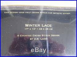 Dimensions Gold Collection WINTER LACE Counted Cross Stitch Kit #35111