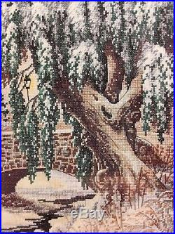 Dimensions Gold Collection Winter Lace Counted Cross Stitch Kit