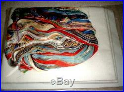 Dimensions Gold St. Nicholas Santas Xmas Tree Skirt Counted Cross Stitch Kit KM