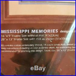 Dimensions Mississippi Memories Counted Cross Stitch Kit 3860 Sandi Lebron NIP
