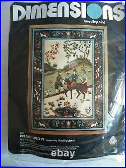 Dimensions Needlepoint kit PERSIAN TAPESTRY Timothy Glenn sealed