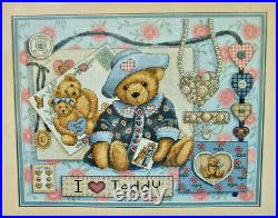 Dimensions / Nita Showers I Love Teddy Counted Cross Stitch Kit