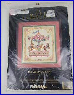 Dimensions The Gold Collection 3769 Her Majesty's Carousel Cross Stitch Kit