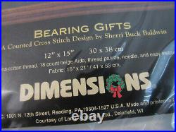 Dimensions The Gold Collection Bearing Gifts Cross Stitch Kit #8638 Christmas