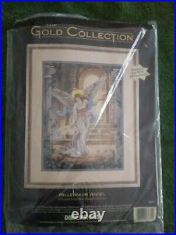 Dimensions The Gold Collection Counted Cross Stitch Kit MILLENNIUM ANGEL #3870