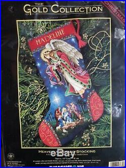Dimensions, The Gold Collection, Heavenly Herald Stocking, Counted Cross Stitch