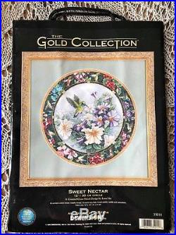Dimensions The Gold Collection cross stitch kit Sweet nectar #35011, 1999 RARE