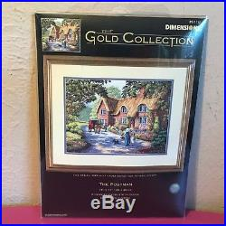 Dimensions The Gold Collection cross stitch kit The Postman #35118