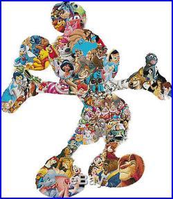 Disney Characters Motif 14 Count Cross Stitch Kit