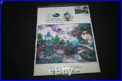 Disney Dreams Collection CINDERELLA Cross Stitch Kit Thomas Kinkade MCG 16 x 12