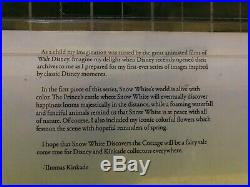 Disney Dreams Collection Kinkade Snow White Discovers The Cottage Cross Stitch