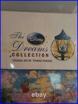 Disney Dreams Collection by Thomas Kinkade Beauty and The Beast Cross-Stitch Kit