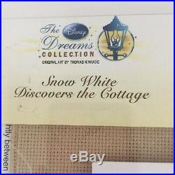 Disney Dreams Snow White Cross Stitch Kit 52500 Thomas Kinkade 16x12 NIP