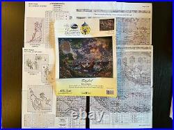 Disney Dreams Thomas Kinkade Cross Stitch Kit Tangled Chart only