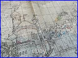 Disney Dreams Thomas Kinkade Cross Stitch Kit The Little Mermaid Chart only