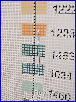EHRMAN 1989 Kaffe Fassett LEMONS CREAM Tapestry Needlepoint Kit 15 x 14.5 Rare