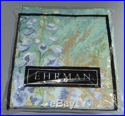 EHRMAN 1994 DELPHINIUMS PANEL by ANN BLOCKLEY TAPESTRY NEEDLEPOINT KIT