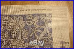 EHRMAN Candace Bahouth William MORRIS TILE tapestry NEEDLEPOINT KIT RETIRED RARE
