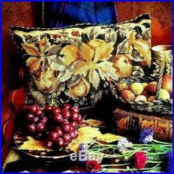 EHRMAN Cascade of Fruit MARGARET MURTON TAPESTRY NEEDLEPOINT KIT VINTAGE RARE