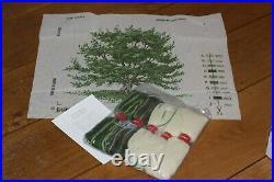 EHRMAN David Merry UTAH JUNIPER TREE needlepoint TAPESTRY KIT retired RARE