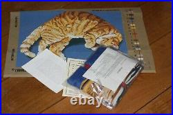 EHRMAN Marmalade Cat ELIAN McCREADY retired TAPESTRY NEEDLEPOINT KIT RARE