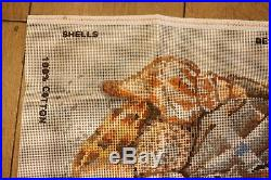 EHRMAN RARE KAFFE FASSETT SHELLS ON THE SAND tapestry NEEDLEPOINT KIT