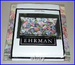 EHRMAN'SWEET PEAS' by MARGARET MURTON TAPESTRY NEEDLEPOINT KIT RETIRED