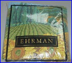 EHRMAN TUSCAN LANDSCAPE by JILL GORDON tapestry needlepoint kit PATERNA WOOLS