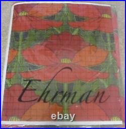EHRMAN Tapestry POPPIES Needlepoint Kit to Stitch by RAYMOND HONEYMAN