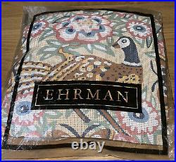 EHRMAN Vintage 1989 KAFFE FASSETT Tapestry Kit. Pheasant On Cream Background