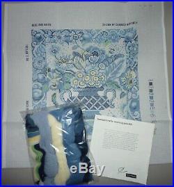 EHRMAN rare BLUE & WHITE PORTUGESE URN Candace Bahouth TAPESTRY NEEDLEPOINT KIT