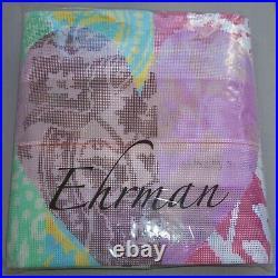 EHRMAN rare PATCHWORK HEART bright ENGLISH ECCENTRICS TAPESTRY NEEDLEPOINT KIT