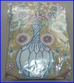 EHRMAN vintage CAUCASIAN FLOWERS by KAFFE FASSETT TAPESTRY NEEDLEPOINT KIT