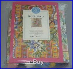 EHRMAN vintage RIBBON & ROSE by KAFFE FASSETT NEEDLEPOINT TAPESTRY KIT RETIRED