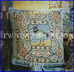 EHRMAN vintage SEABIRD by KAFFE FASSETT NEEDLEPOINT TAPESTRY KIT